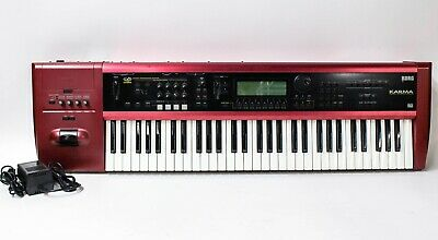 Korg Karma 61-Key Synthesizer / Keyboard Workstation with Power Supply for sale  Shipping to India