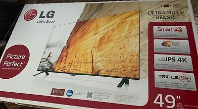 lG smart TV 49 inch UB8200 4K