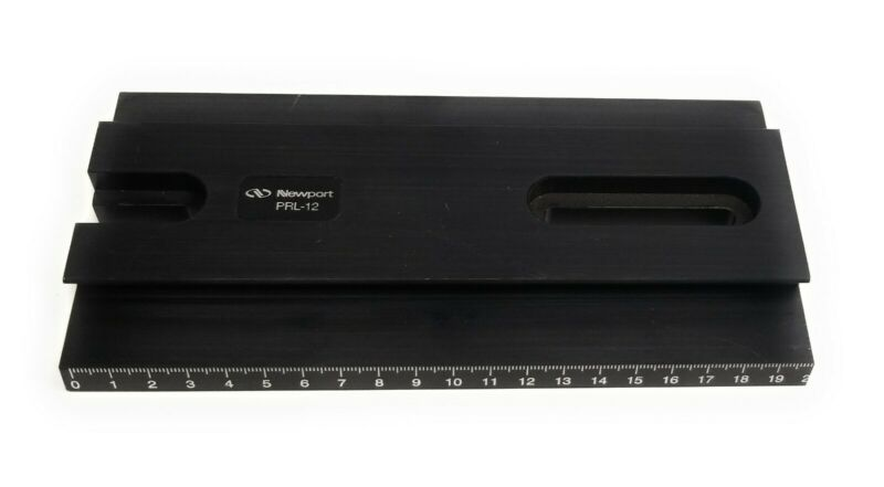 """Newport PRL-12 Precision Optical Rail 12.46"""" Length 3.93"""" Width for PRC Carriers"""