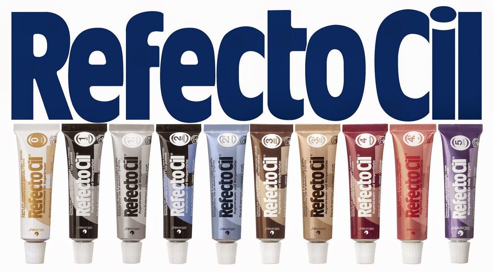 bcdbc2c250a 【Item For sale: New】: RefectoCil Professional Intensive Eyelash & Eyebrow  Dye Tint Lash Kit Tinting EU