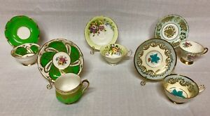 35 Piece VINTAGE TEA CUP AND SAUCER SET
