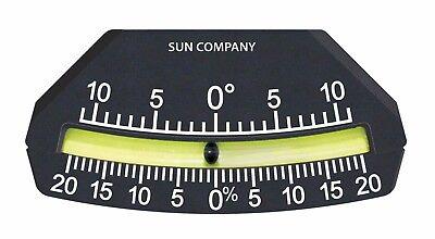 Sun Company Industrial Lev-o-gage 9 - Glass Tube Inclinometer
