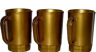 75 Pearl Gold Beer Mugs/Steins Wholesale Lot Holds 1 Pint Made in America *