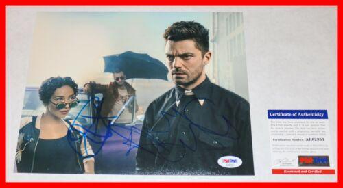 🔥 Dominic Cooper Ruth Negga Signed Preacher Cast 8X10 Picture PSA JSA BAS 🔥