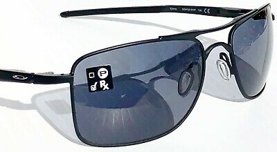 NEW* Oakley GAUGE 8 L 62mm Aviator Black w Grey lens Sunglass 4124-01, used for sale  Temecula