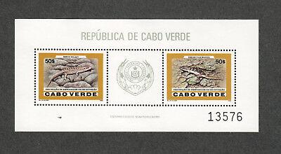 Cape Verde Sc#495 M/NH/VF, WWF Sheet, Cv. $30