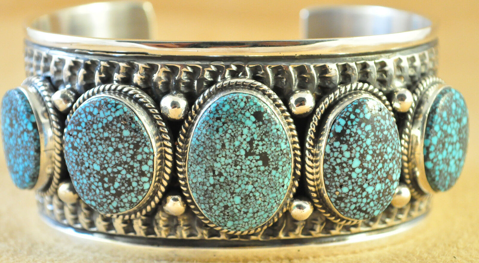 TeePee Silver and Turquoise