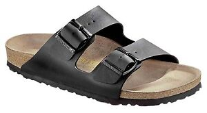 Birkenstock Arizona Black Sandals 39 L8/M6 R = Regular / Brand New  051791 39