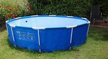 Driclad Bestway steel frame 10' aboveground Swimming Pool Maleny Caloundra Area Preview