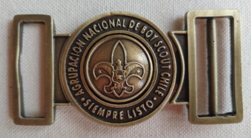 NATIONAL BOY SCOUT BELT BUCKLE FROM CHILE 🇨🇱
