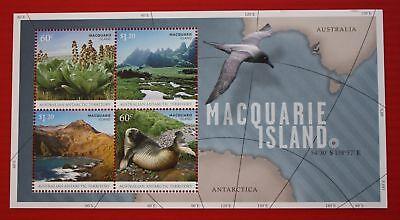 CLEARANCE - Australia AAT (L153b) 2010 Macquarie Island souvenir sheet
