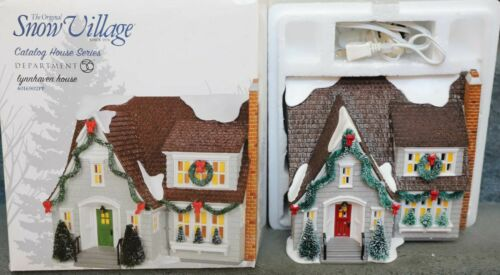 DEPT 56 LYNNHAVEN HOUSE SNOW VILLAGE 4016902PP CHRISTMAS