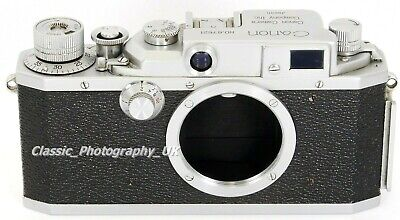 CANON IVSB - 35mm Rangefinder Camera Body ONLY made in 1952 - FULLY Working!