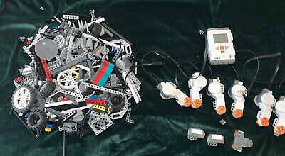 Lego Mindstorms Nxt: Li Battery Intelligent Brick 6 Motors 2 Sensors - More!!!
