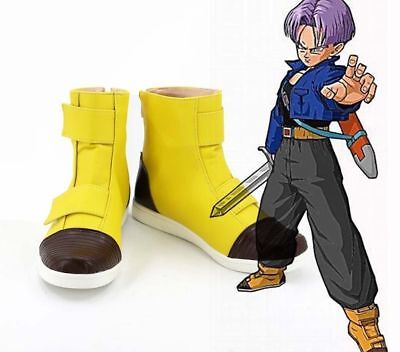 Dragon Ball Z Trunks Cosplay Shoes Boots Custom Made[free - Dragon Ball Z Trunks Costume