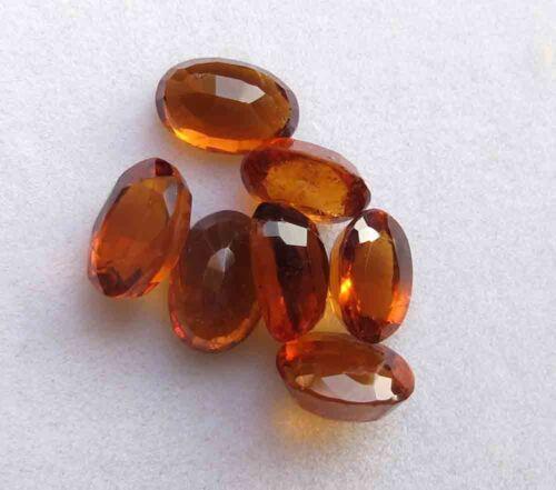 13.20 Carat 100% Natural AAA Hessonite Garnet Oval Faceted Loose Gemstone