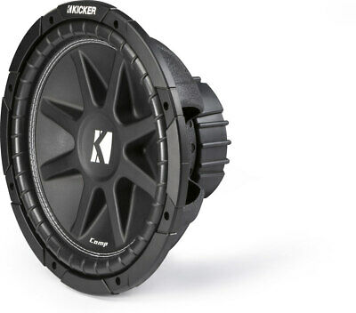 Kicker Comp C124  300W Peak  12 Comp Series Single 4-Ohm Sub