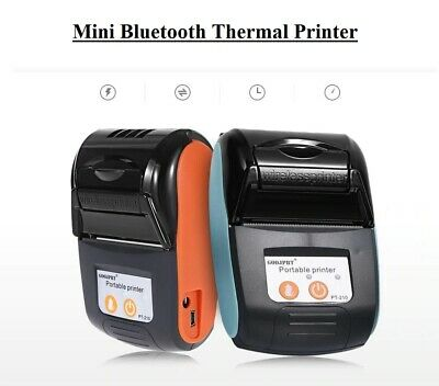 Portable Bluetooth Thermal Label Printer Wireless Pos Receipt Handheld Machine