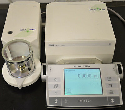 Mettler Toledo Umx2 Ultra-micro Balance Calibrated 90 Days Warranty