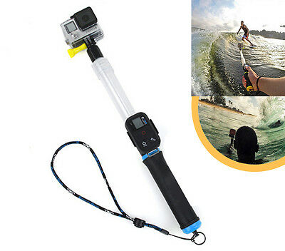 Floating Transparent Extension Pole Selfie Stick For GoPro HERO 6 5 4 3 14