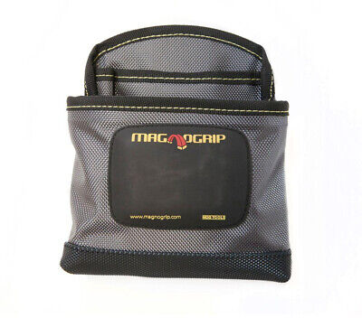 Pro Magnetic Clip-On Nail Pouch Platinum for Repair or Installation Projects