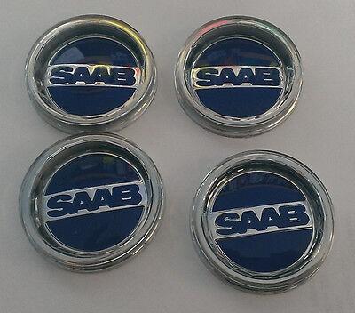SAAB SONETT 96 99  SOCCER BALL  WHEEL emblem CENTER CAP SET OF 4 NEW for sale  Bensenville
