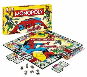 Marvel Spiderman Monopoly at JJ Sports