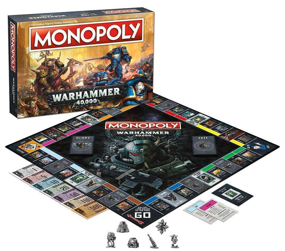 WARHAMMER 40,000 Monopoly Board Game / Usaopoly NEW FAST SHI