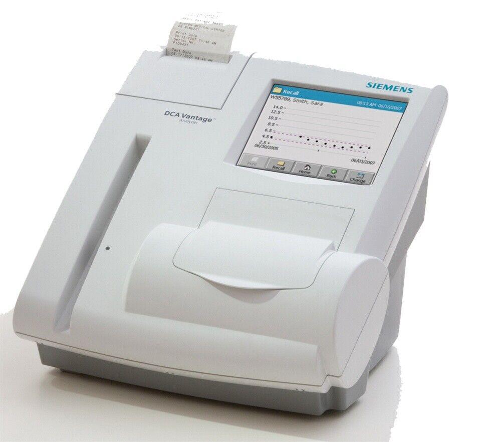 SIEMENS DCA VANTAGE ANALYZER 5075S HEMOGLOBIN A1C NEW IN SEALED BOX