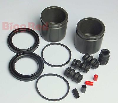 FRONT Brake Caliper Seal & Piston Repair Kit for Mercedes E Class W211 (BRKP95)