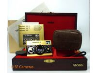 GOLD ROLLEI 35 S 35MM FILM CAMERA SONNAR 40MM F2.8 LENS MINT 60 YEAR ANNIVERSARY
