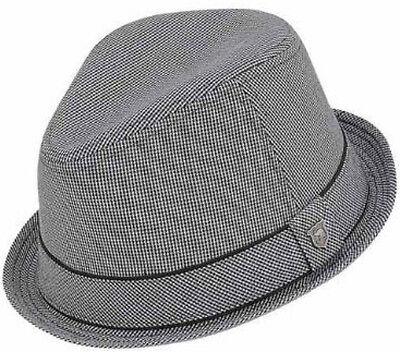 Peter Grimm Duke Fedora Hat, Black S/M (Peter Grimm Fedora)