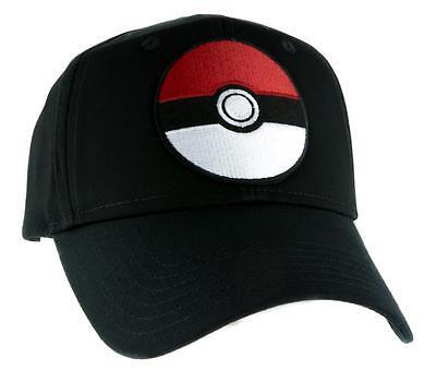 Pokeball Pokemon Go Casquette de Baseball Vêtements Rechange Gotta Catch Em Tout