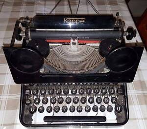 Rare Antique Kappel AG 1920s Typewriter made in Germany Eschol Park Campbelltown Area Preview