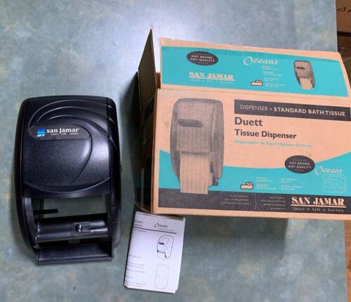 San Jamar Ocean Duett Standard Tissue Dispenser