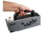 Antari M-1 Mobile Battery Fogger Fog Smoke Machine Stage DJ Theatre Lighting 2 Batteries Flightcase