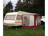 Rare vintage 1991 AVONDALE PERLE ADONIS retro 4 berth caravan lightweight and compact!!