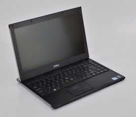 "WINDOWS 7 DELL LATITUDE - INTEL CELERON 13 LAPTOP 13"" - 4GB RAM - 320GB HDD"