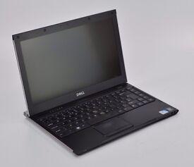 "WINDOWS 7 DELL LATITUDE 13 LAPTOP 13"" - INTEL CELERON - 4GB RAM - 320GB HDD"