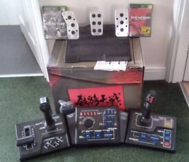 Xbox Steel Battalion controller and games!!!