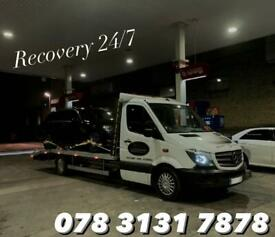 24/7 Recovery / Breakdown / JumpStart / Accident Management Nationwide / Auction Collections