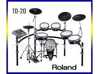 Roland V DRUMS TD-20K electronic kit & 9 VEX packs PRO set FULLY refurbed