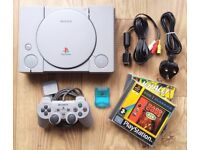 Sony PlayStation 1 / PS1 Console Bundle