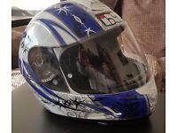 IXS Motorbike Helmet size 52 - Medium . Great condition