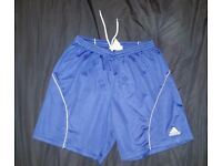 ADIDAS Climalite Men's Navy Blue Shorts | Size Medium | Sportswear | Used | Leeds