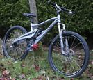 Marin Alpine Trail full suss mountain bike in practically new condition.