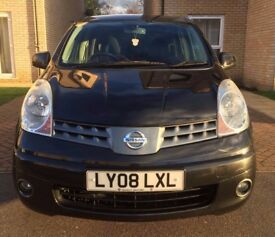 Nissan Note Acenta 1.4L Petrol - Full Service History + Long MOT & Lady Previous Owner