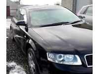 02 A4 1.9 TDI PD AWX BREAKING NEW WINGS PAINTED IN GENUINE BLACK