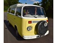 VW Type 2 Bay Window Camper T2
