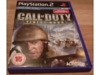 Call of Duty 2 Finest Hour PS2 - Excellent Condition
